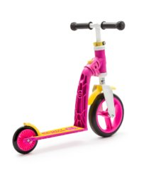 Самокат-беговел Scoot&Ride SR-216271-PINK-YELLOW
