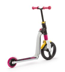 Самокат-беговел Scoot&Ride SR-202310-WHITE-PINK-YELLOW