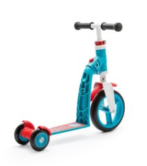 Самокат-беговел Scoot&Ride SR-216272-BLUE-RED